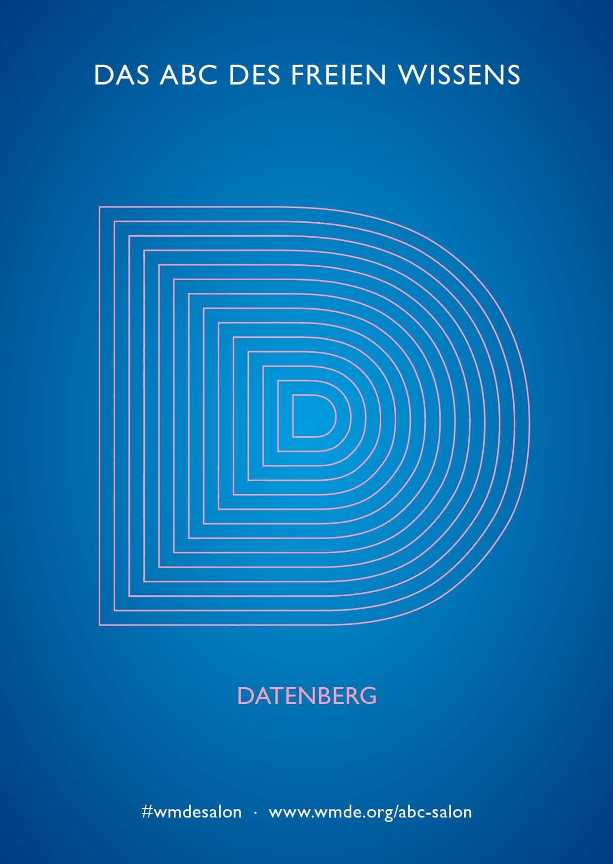 Grafische Darstellung des Buchstaben D