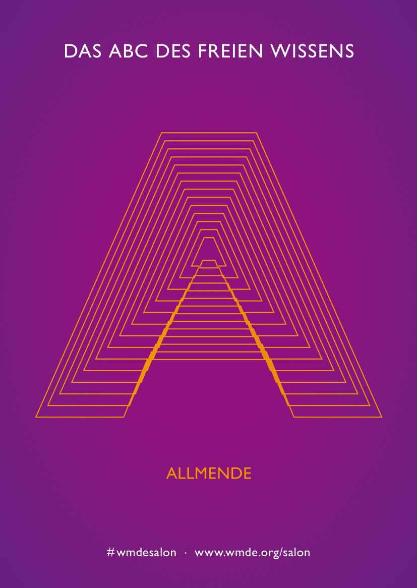 Grafische Darstellung des Buchstaben A
