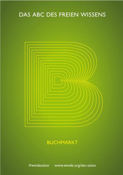 Graphische Darstellung des Buchstaben B