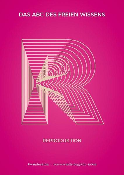 """Grafische Darstellung des Buchstaben """"R"""" im Design der Salon-Reihe"""