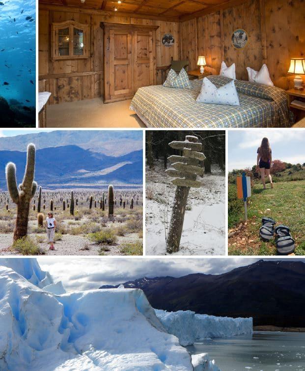 Collage aus der Wikivoyage-Broschüre