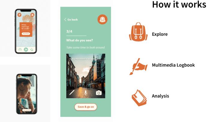 Screenshot of the app UnFAQ