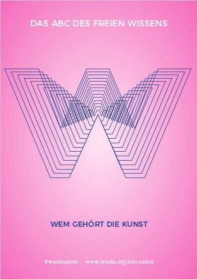 """Grafische Darstellund des Buchstaben """"W"""""""